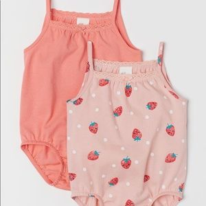 Other - H&M Baby Sleeveless bodysuits - Set of 2